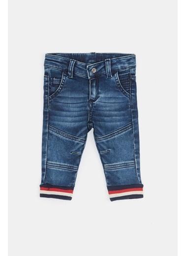 BG Baby Erkek Bebek Jean Pantolon 20Fw0Bg1237 Mavi